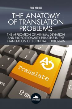 The Anatomy of Translation Problems, Ping-Yen Lai