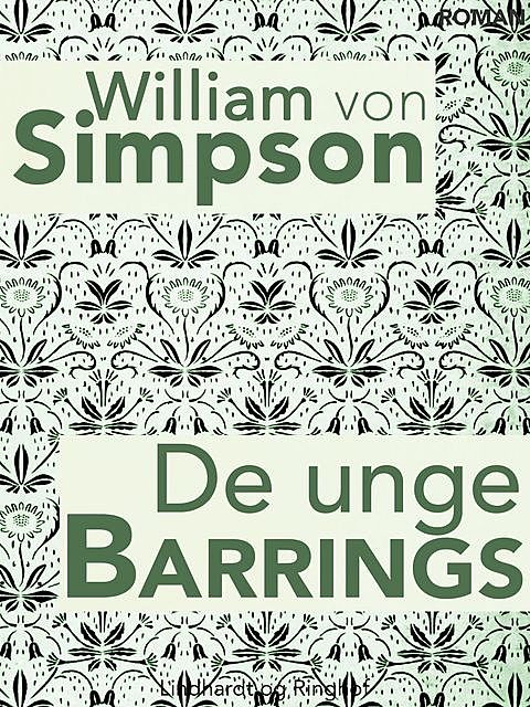 De unge Barrings, William Von Simpson