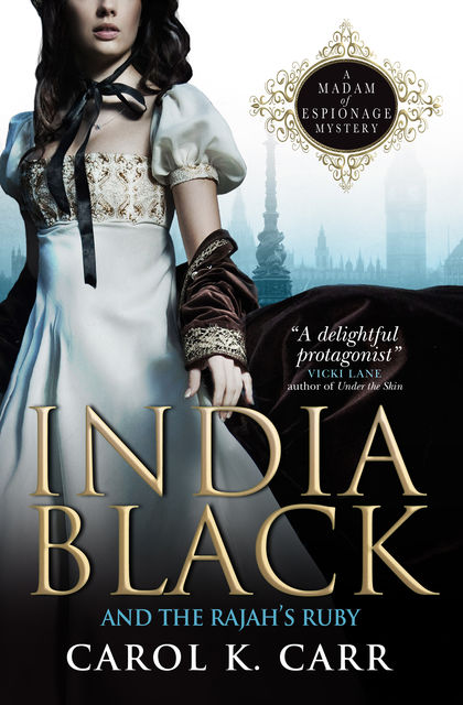 India Black and the Rajah's Ruby, Carol K.Carr