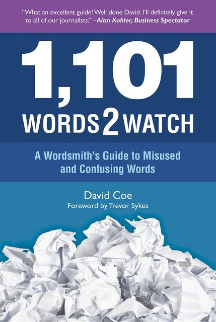 1,101 Words2watch, David Coe