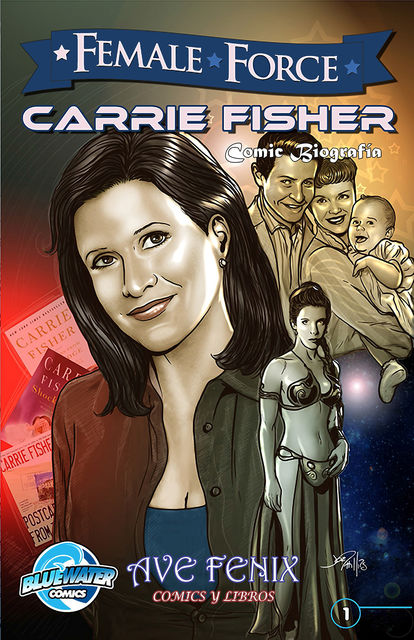 Female Force: Carrie Fisher (Spanish Edition) Vol.1 # 1, C.W.Cooke