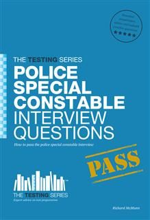 Police Special Constable Interview Questions and Answers, Richard McMunn