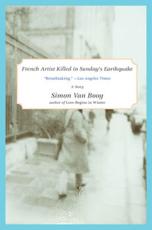 French Artist Killed in Sunday's Earthquake, Simon Van Booy