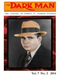 The Dark Man: The Journal of Robert E. Howard Studies, Mark Finn, Jeffrey Shanks, Larry Richter, Lee Breakiron, Mark Hall, Rusty Burke