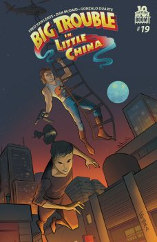 Big Trouble in Little China #13, Fred Van Lente