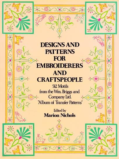 Designs and Patterns for Embroiderers and Craftspeople, Co., William Briggs
