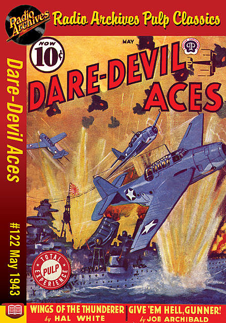 Dare-Devil Aces #122 May 1943, Joe Archibald, Hal White