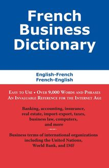 French Business Dictionary, Morry Sofer
