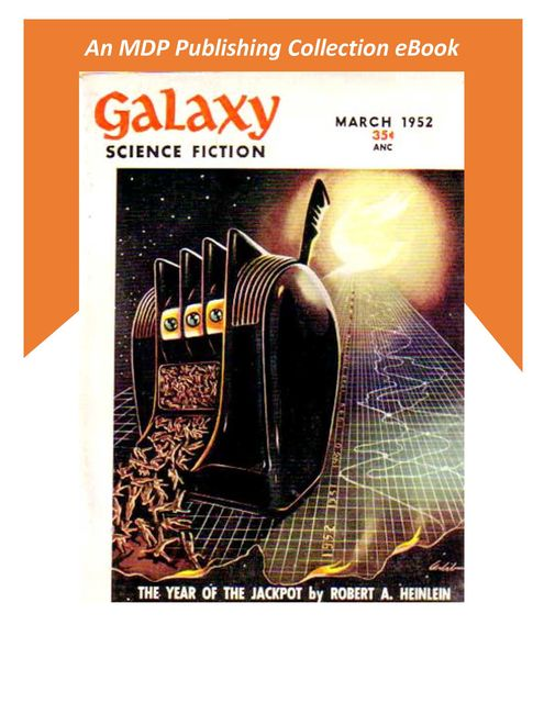 Galaxy Science Fiction March 1952,