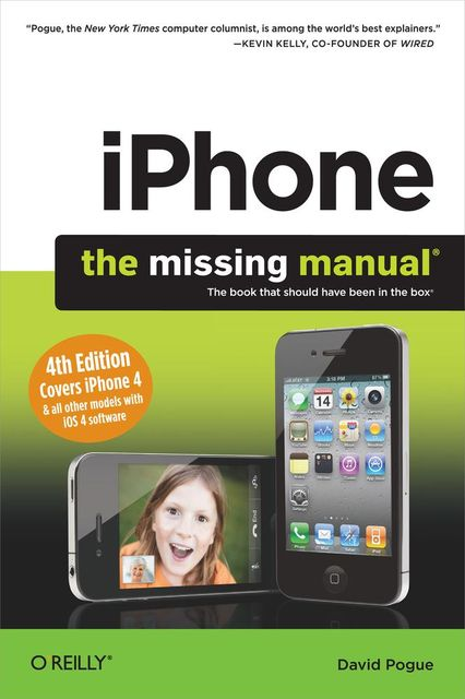 iPhone: The Missing Manual, David Pogue
