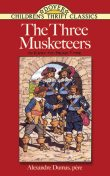 The Three Musketeers. Easy-to-read type, Alexander Dumas