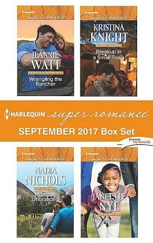 Harlequin Superromance September 2017 Box Set, Kristina Knight, Janet Lee Nye, Nadia Nichols, Jeannie Watt