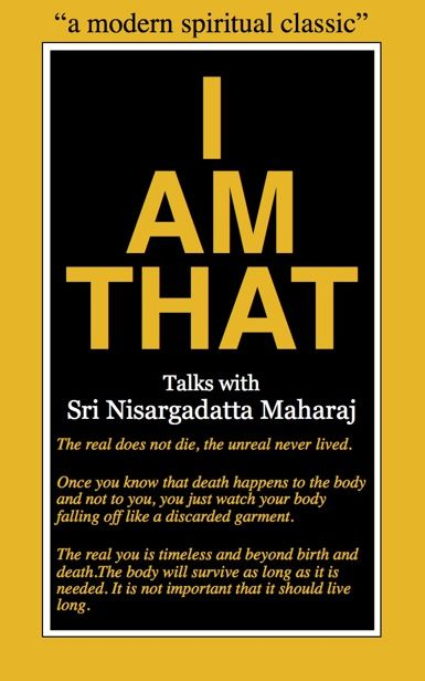 I Am That, Nisargadatta Maharaj