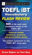 TOEFL iBT® Vocabulary Flash Review, Learning Express Llc