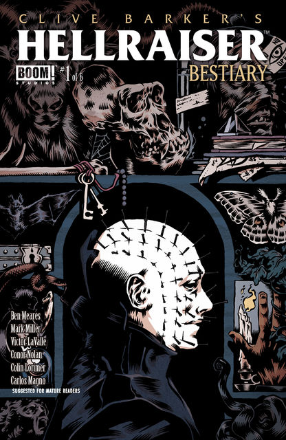 Clive Barker's Hellraiser: Bestiary #1, Victor LaValle, Mark Miller, Ben Meares