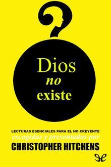 Dios no existe, Christopher Hitchens