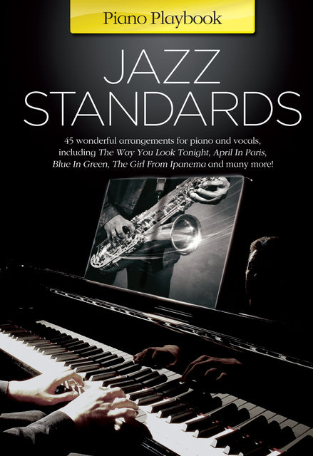 Piano Playbook: Jazz Standards, Wise Publications
