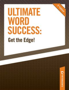 Ultimate Word Success: Get the Edge, Peterson's