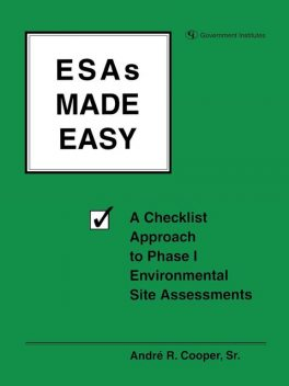 ESAs Made Easy, Andre R. Cooper