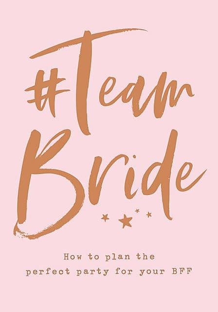 Team Bride, HarperCollins
