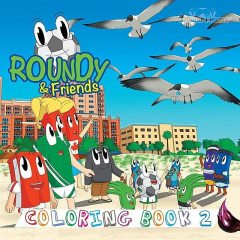 Roundy & Friends Coloring Book 2, Andres Varela