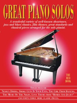 Great Piano Solos: The Red Book, Wise Publications
