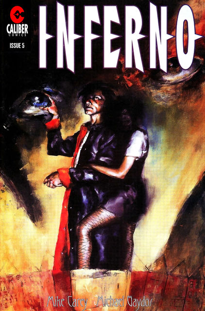 Inferno Vol.1 #5, Mike Carey