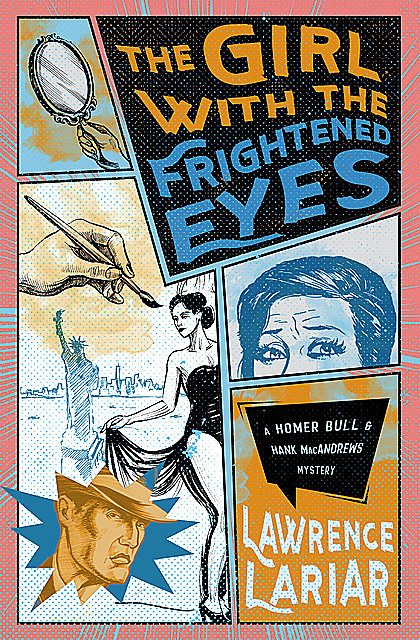 The Girl with the Frightened Eyes, Lawrence Lariar