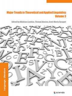 Major Trends in Theoretical and Applied Linguistics 3, Anna Borowska