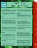 Excel For Business Math, Speedy Publishing