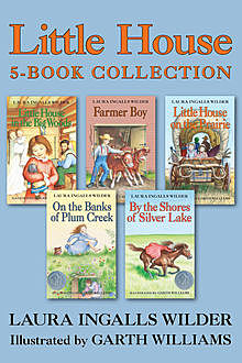 Little House 5-Book Collection, Laura Ingalls Wilder