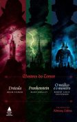 Mestres do terror: Drácula, Frankenstein e O médico e o monstro, Robert Louis Stevenson, Bram Stoker, Mary Shelley