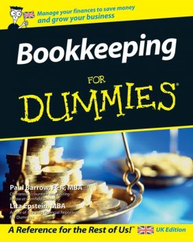 Bookkeeping For Dummies, Lisa Epstein, Paul Barrow