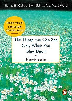 The Things You Can See Only When You Slow Down: How to Be Calm and Mindful in a Fast-Paced World, Haemin Sunim