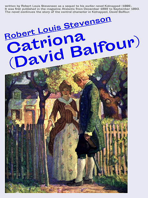David Balfour, Robert Louis Stevenson
