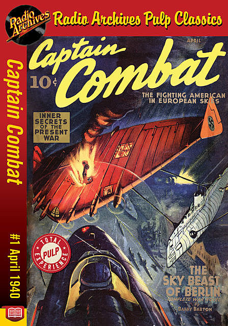 Captain Combat #1 April 1940 Claws of th, Barry Barton