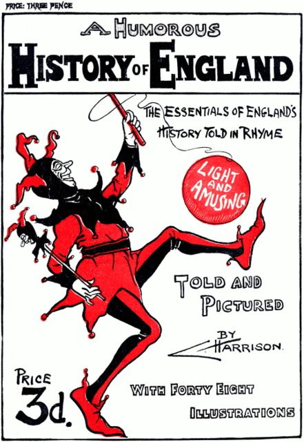 A Humorous History of England, Charles Harrison