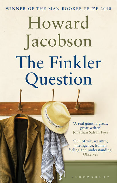 The Finkler Question, Howard Jacobson