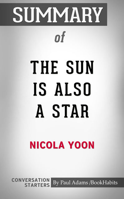 Summary of The Sun is Also a Star, Paul Adams