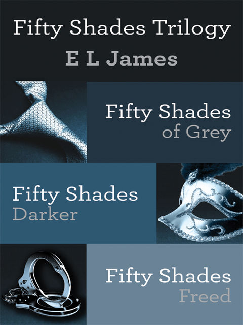 Fifty Shades Trilogy Bundle: Fifty Shades of Grey; Fifty Shades Darker; Fifty Shades Freed, E.L.James
