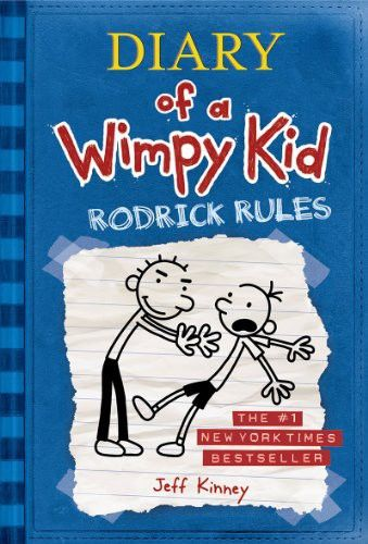 Diary Of A Wimpy Kid 02 – Rodrick Rules, Jeff Kinney