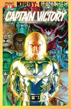 Kirby: Genesis! Captain Victory #1, Alex Ross, Sterling Gates