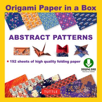 Origami Paper – Abstract Patterns, Francesco Decio