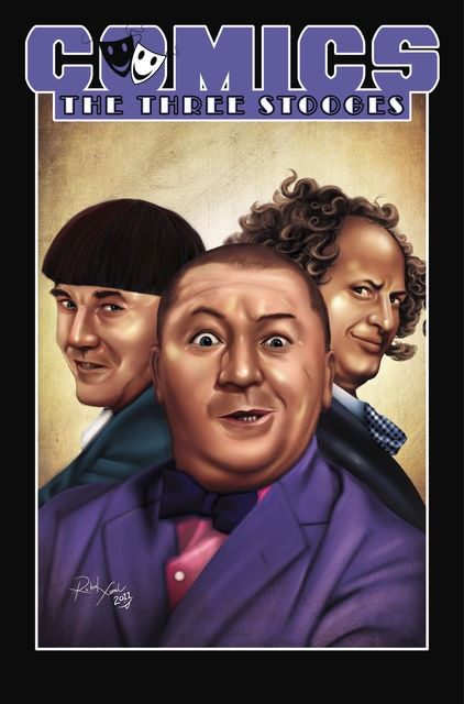 Comics: Three Stooges, James Reed, James, Reed, Apriyadi Kusbiantoro