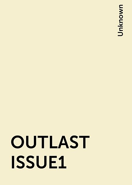 OUTLAST ISSUE1,