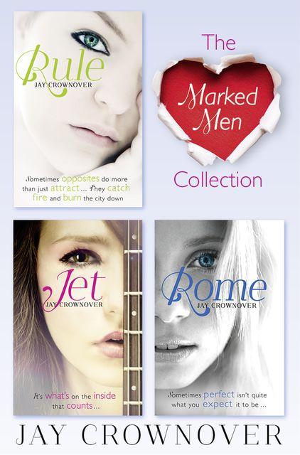 The Marked Men 3-Book Collection, Jay Crownover