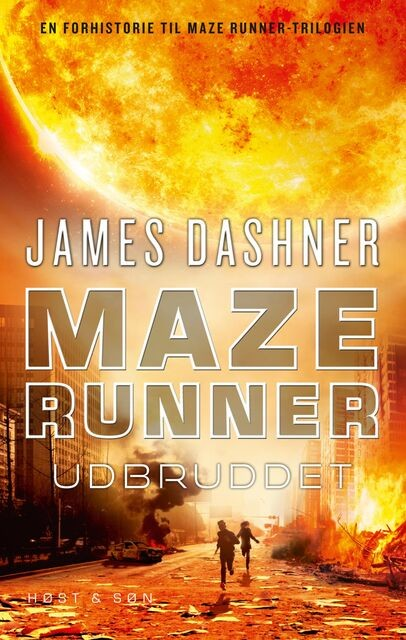 Maze Runner – Udbruddet, James Dashner