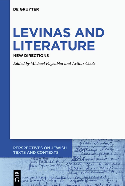 Levinas and Literature, Arthur Cools, Michael Fagenblat