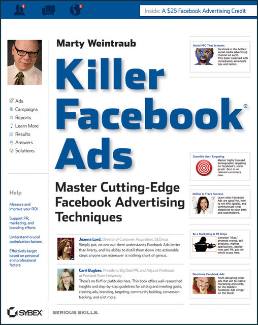 Killer Facebook Ads, Marty Weintraub