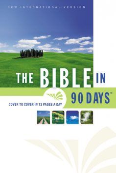 NIV, Bible in 90 Days, eBook, J.R., Ted Cooper